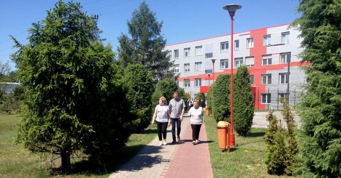 Wizyta mieszkańców Koluszek wZakładach Mięsnych wKarczewie